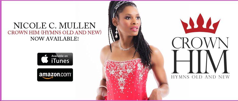 Nicole C. Mullen  Christian Singer