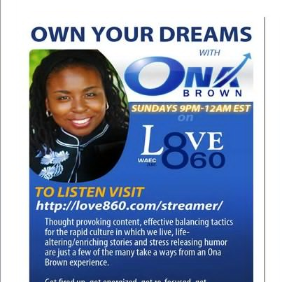Ona Brown Radio Show - Atlanta