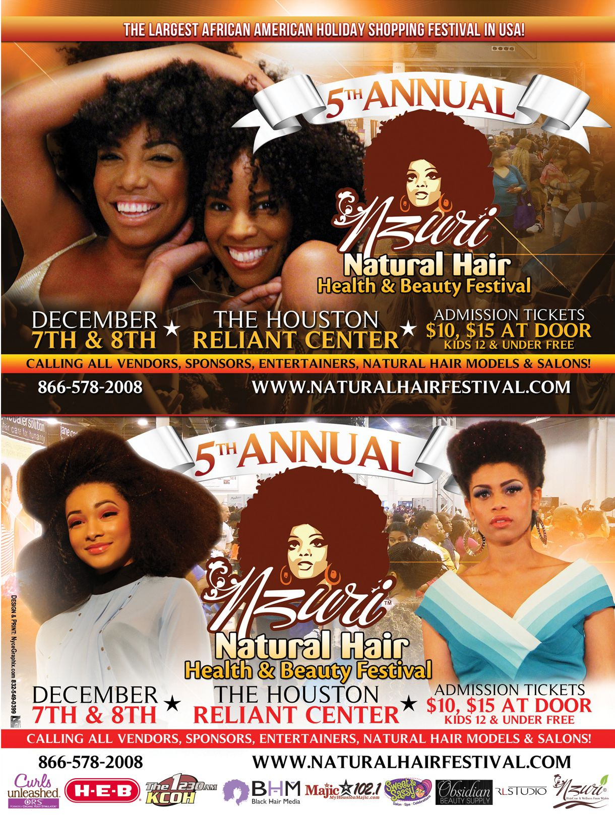 Nzuri Natural Hair Festival - Dec. 2013