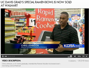 Rapid Ramen Bowl now sold at Walmart !